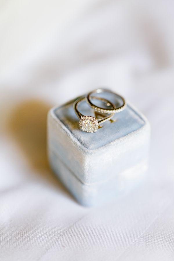 Classy diamond ring: www.stylemepretty... Photography; Greer Gattuso - www.greer...