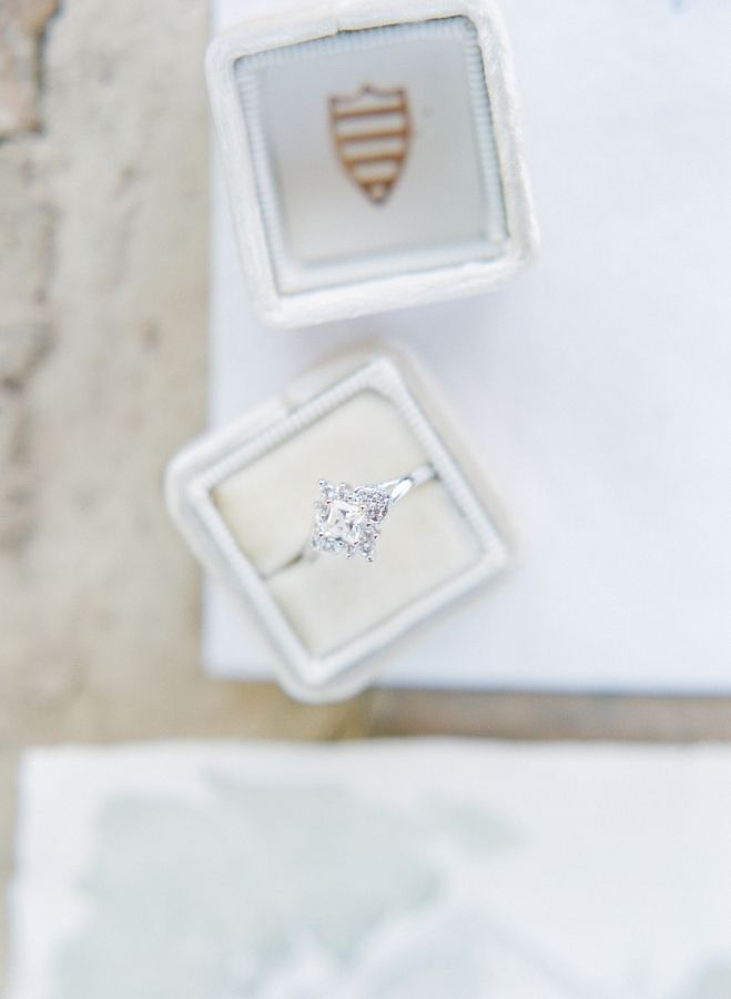 Diamond engagement ring that will have you speechless! www.stylemepretty... Phot...