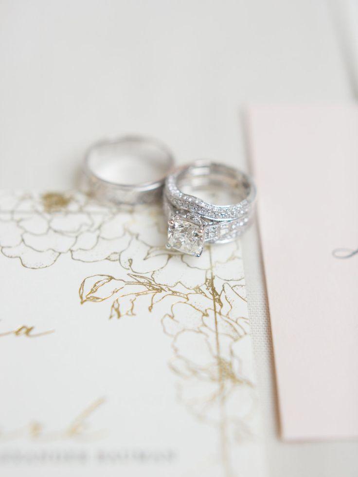 Diamond ring: Photography: Meghan Megan Photography - meghanmehan.com   Read Mor...