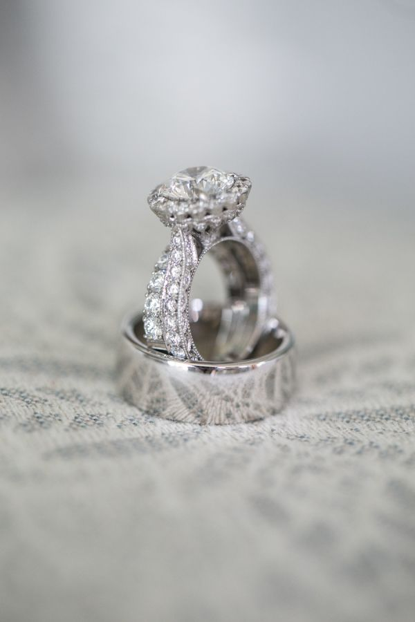 Double band diamond ring: www.stylemepretty... Photography: mkPhoto - www.mkphot...