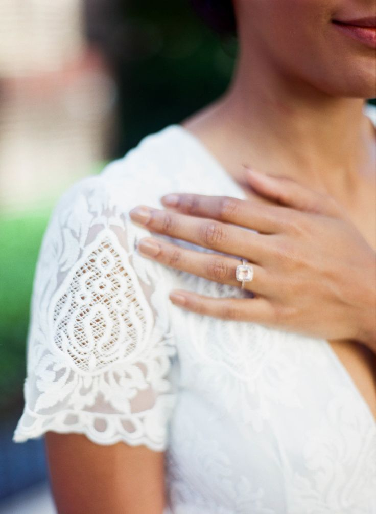 Dreamy halo engagement ring: Photography : Shannon Duggan Photography Read More ...