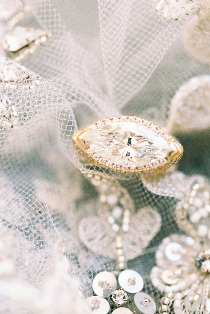 East West engagement rings we love: www.stylemepretty...