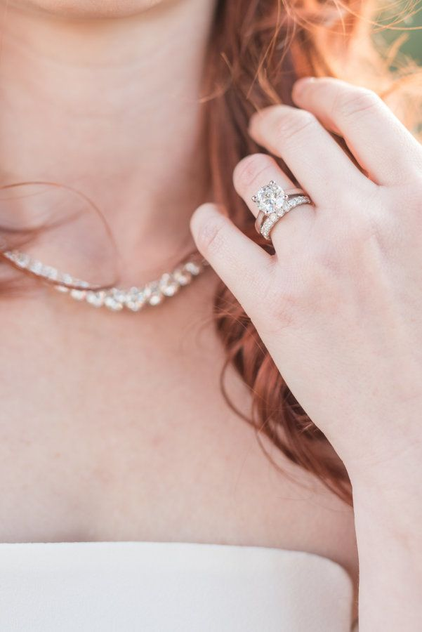 Elegant conflict-free diamond ring from Ada Diamonds: www.stylemepretty... #spon...