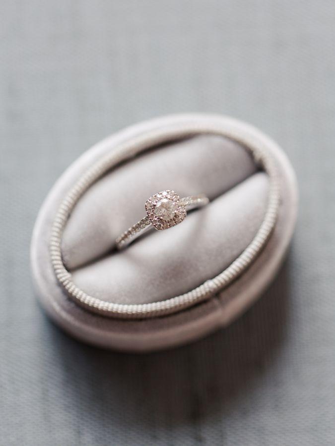 Elegant diamond ring: www.stylemepretty... Photography: Anna Shackleford - www.a...