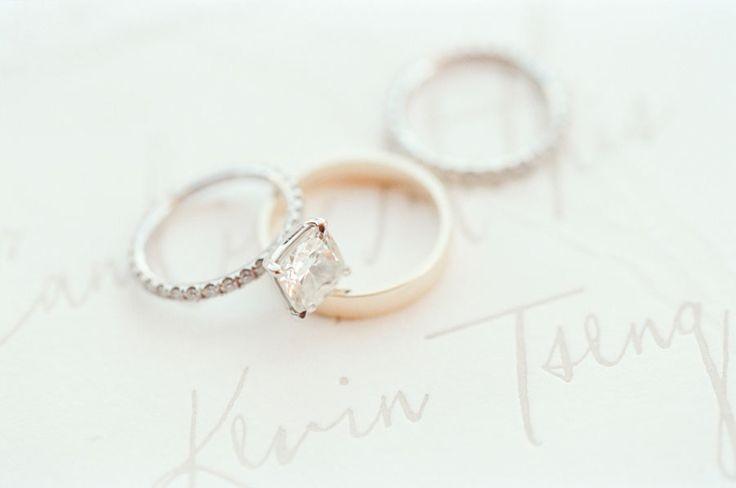 Elegant diamond ring: www.stylemepretty... Photography: KT Merry - www.ktmerry.c...