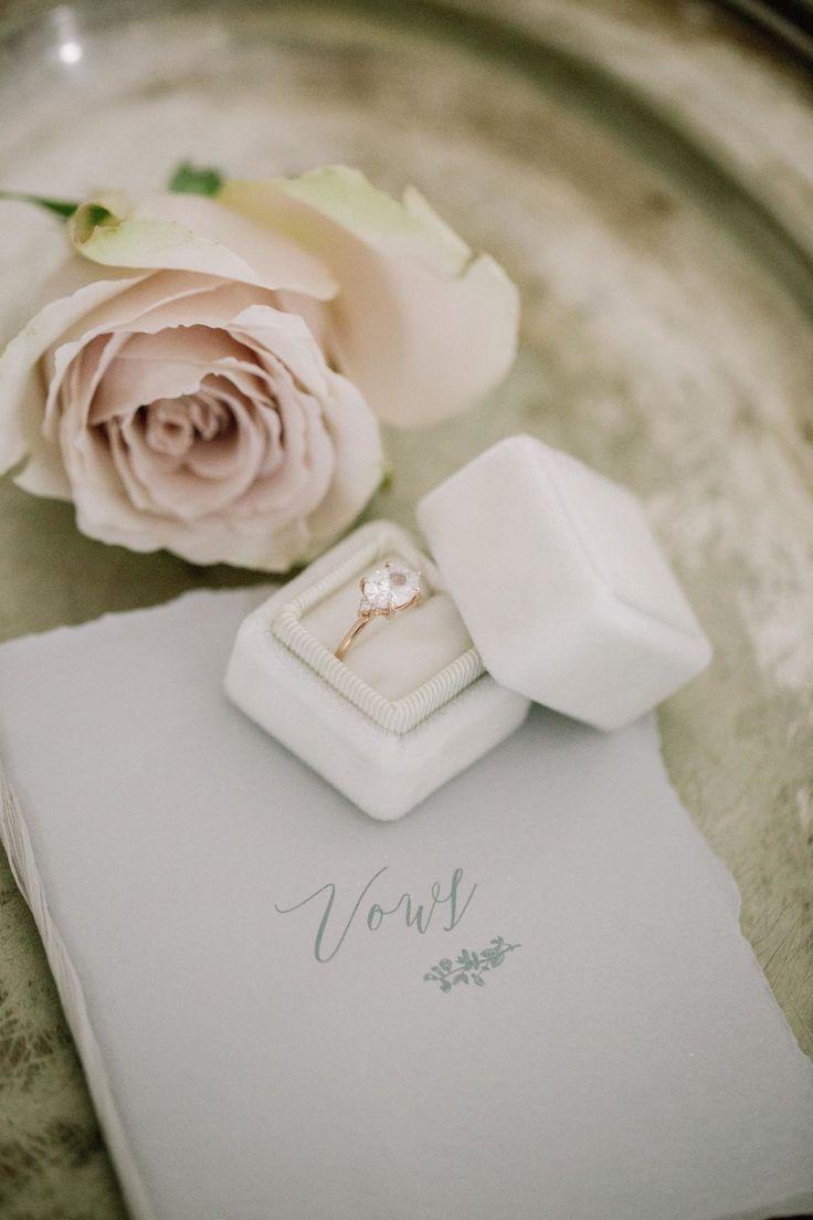 Elegant engagement ring: Floral Design: Three Sisters Custom Flowers & Events - ...