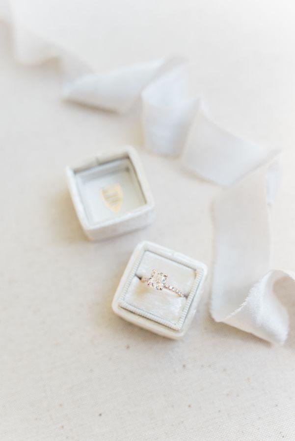 Elegant engagement ring: www.stylemepretty... Photography: Hello Blue - helloblu...