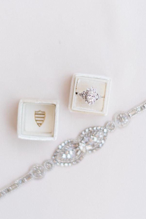 Elegant unique secret garden inspired engagement ring: www.stylemepretty... Phot...