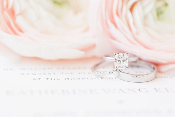 Emerald cut diamond ring: www.stylemepretty... Photography: Katelyn James - kate...