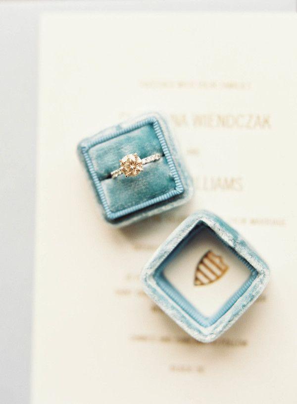 Gold engagement ring: www.stylemepretty... Photography: Judy Pak - judypak.com/