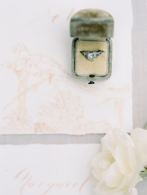 Gorgeous diamond ring that you can't keep your eyes off of: www.stylemepretty......