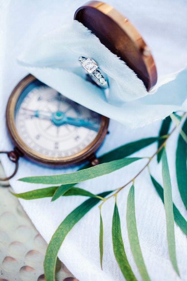 Gorgeous diamond ring: www.stylemepretty... Photography: Rachel Buckley - www.rb...