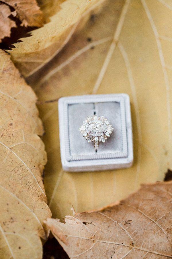 Hand-crafted diamond ring: www.stylemepretty... Photography: Tala Nicole - talan...