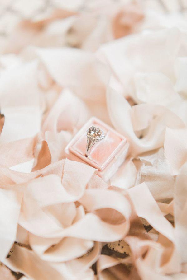 Oval-cut engagement ring: www.stylemepretty... Photography: Rhythm - www.rhythm-...
