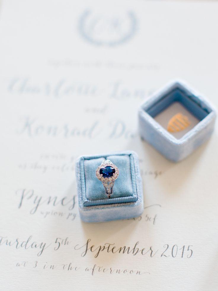 Oval sapphire engagement ring: Classic + Elegant English Estate Wedding Inspirat...