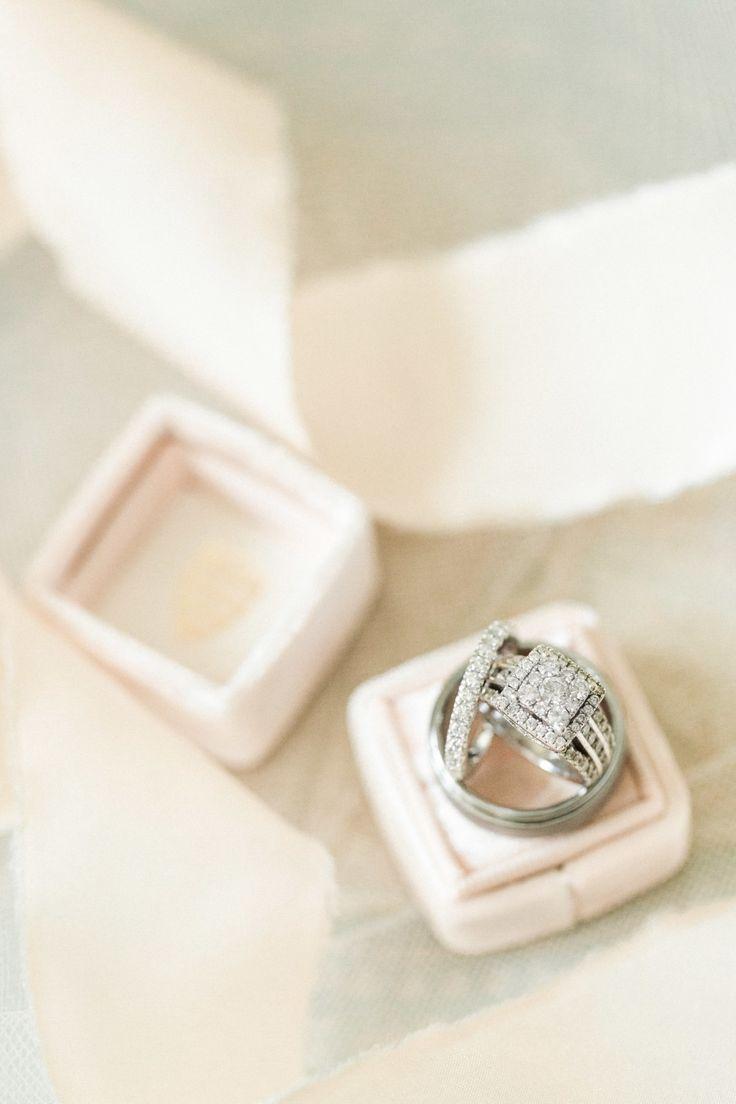 Princess-cut diamond ring: Photography: Christy Nicole Photography - christynico...