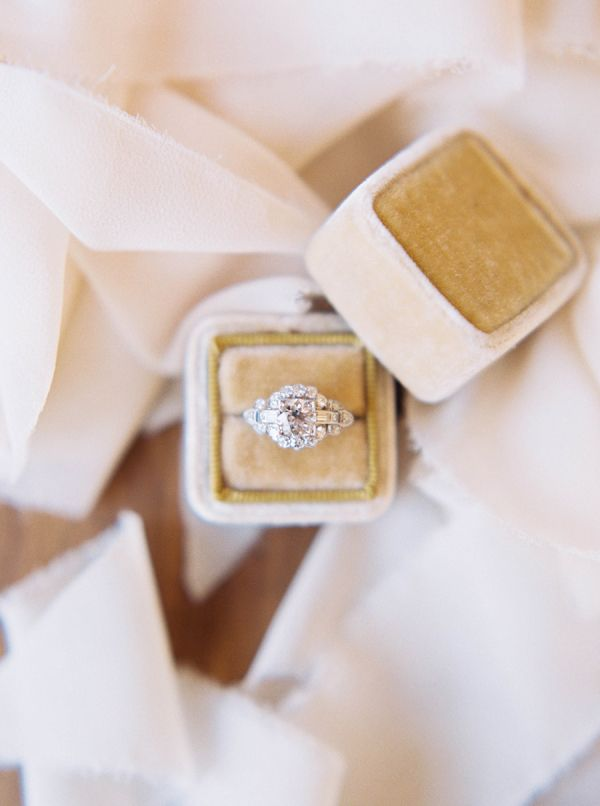 Vintage Trumpet and Horn engagement ring: www.stylemepretty...