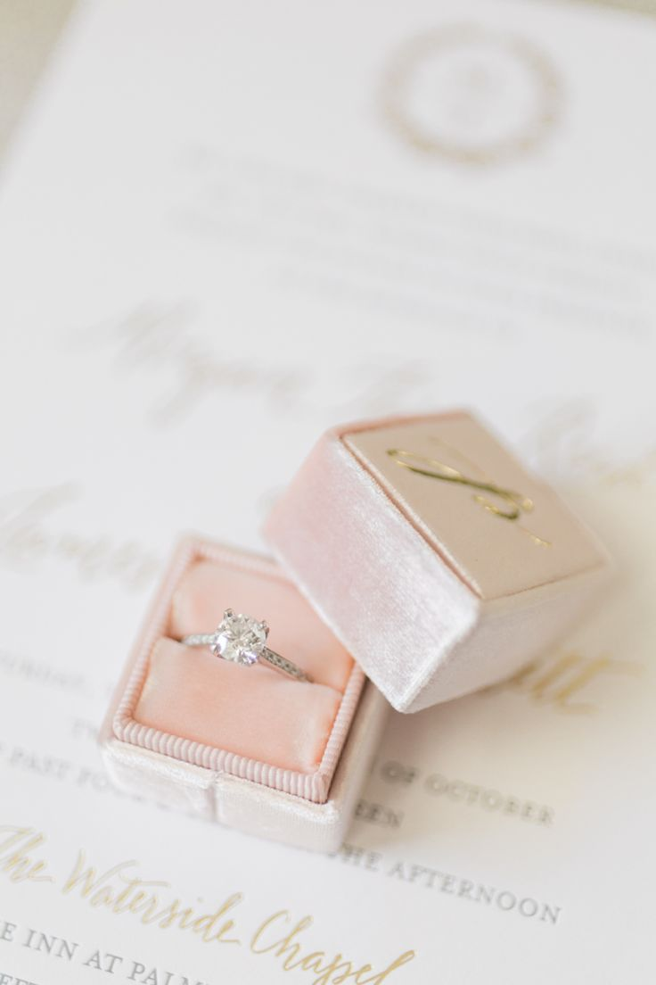 Princess-cut engagement ring: Photography: Ashley Seawell - www.ashleyseawellpho...