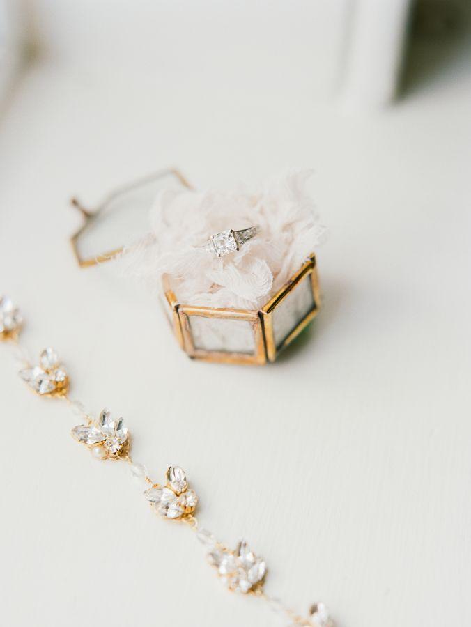 Princess-cut engagement ring: www.stylemepretty... Photography: Vitor Lindo - vi...