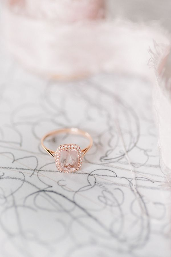Romantic and sophisticated ring: www.stylemepretty... Photography: Exquisitrie -...