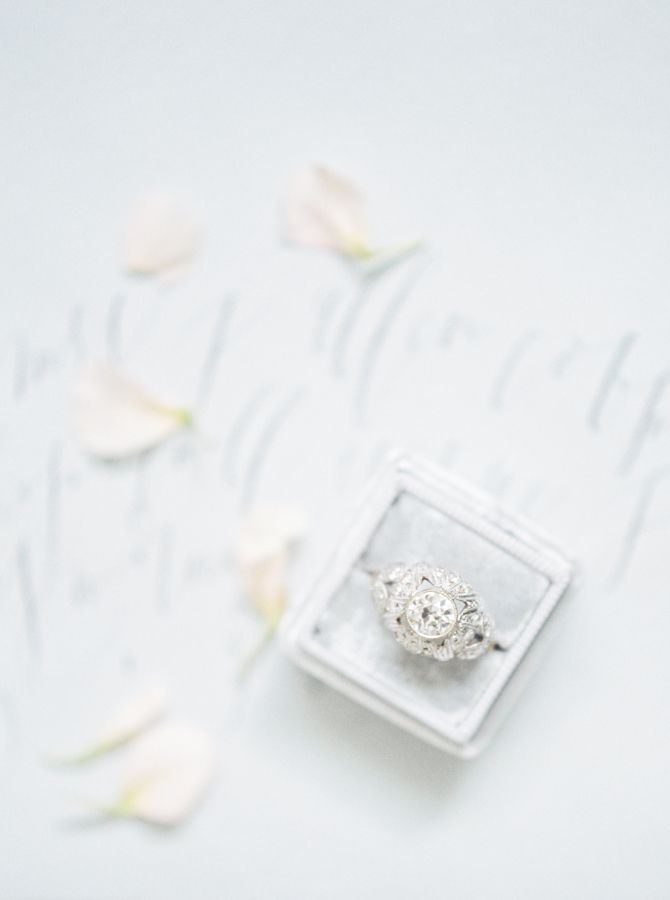 Romantic engagement ring: www.stylemepretty... Photography: Ivory and Bliss - iv...