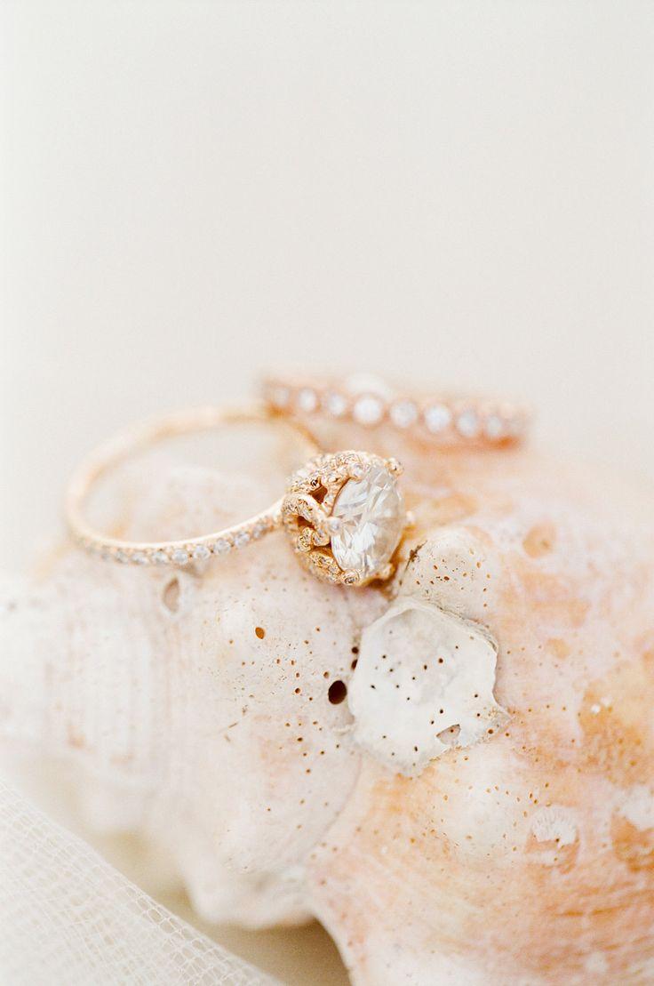Rose Gold engagement rings: www.stylemepretty...