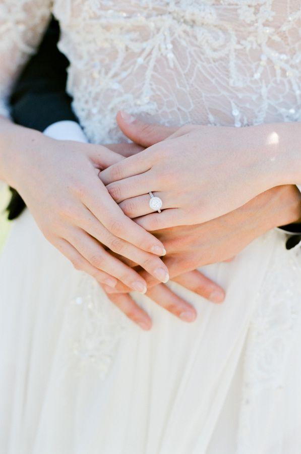 Round-cut diamond ring: www.stylemepretty... Photography: Tamara Gruner - tamara...