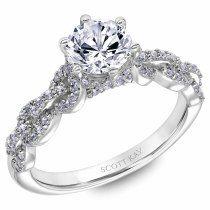 Round-cut diamond ring: www.stylemepretty... #sponsored