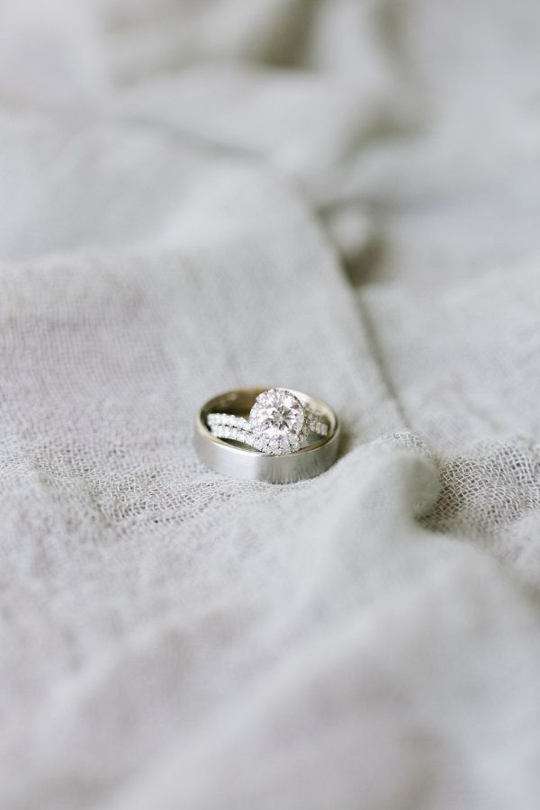 round-cut engagement ring that is nothing short of flawless: www.stylemepretty.....