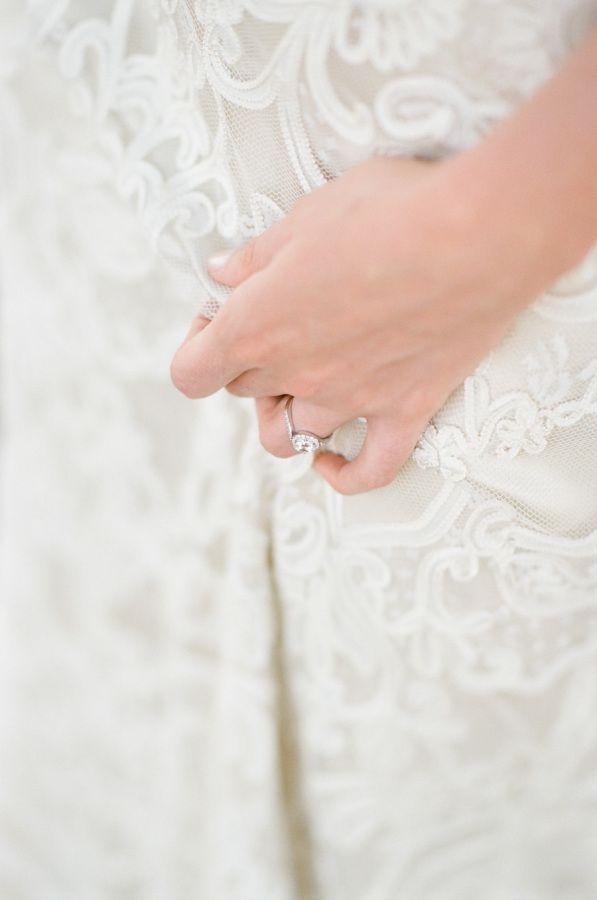 Round-cut engagement ring: www.stylemepretty... Photography: Tamara Gruner - tam...