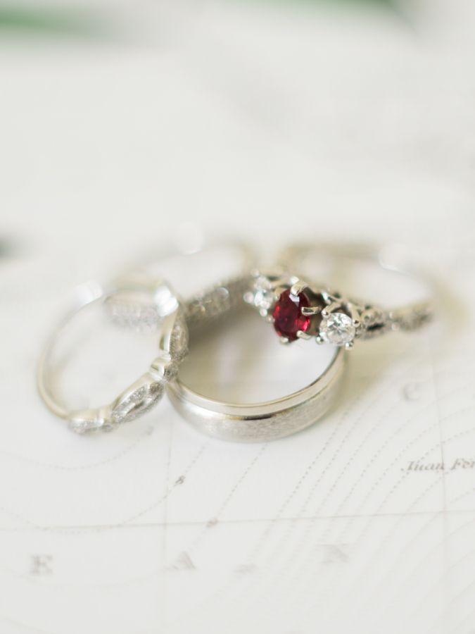 Ruby red diamond ring: www.stylemepretty... Photography: Care Studios - carewedd...