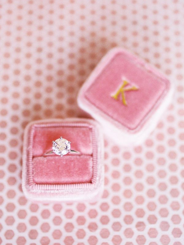 Round-cut diamond ring: www.stylemepretty... Photography: Callie Davis of Nancy ...