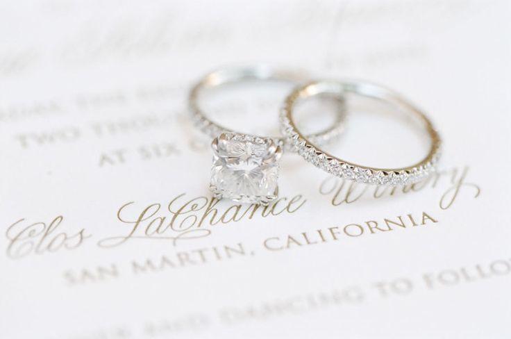 Stunning diamond band circle-cut diamond ring: www.stylemepretty... Photography:...