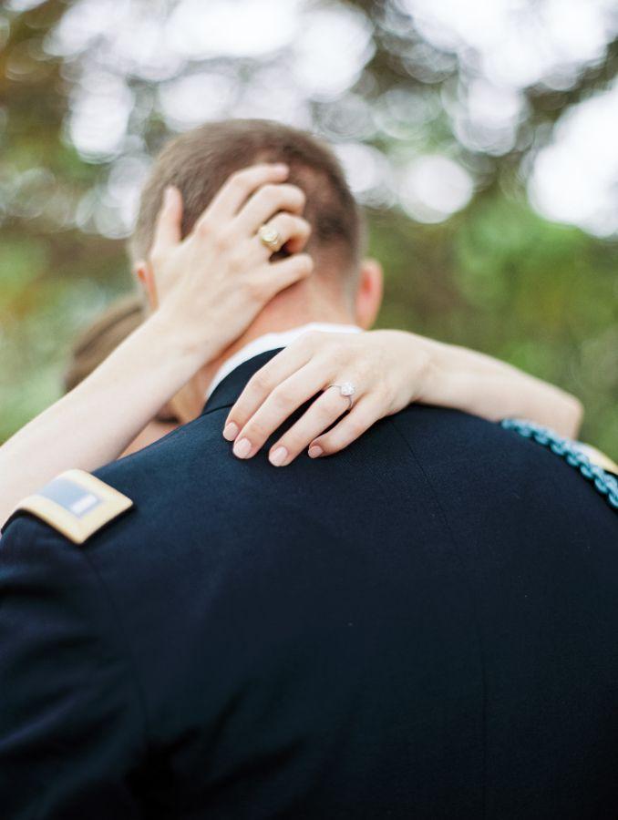 Stunning engagement diamond ring: www.stylemepretty... Photography: Becca Lea - ...