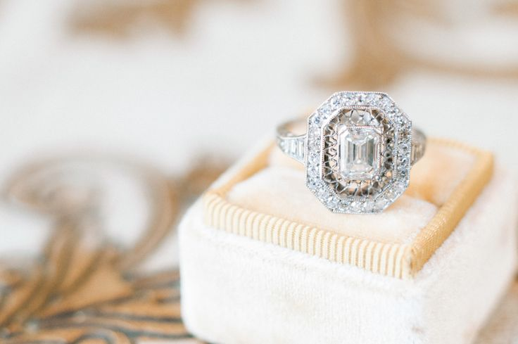 Stunning oval diamond ring: Photography : Whiskers & Willow Photography Read Mor...