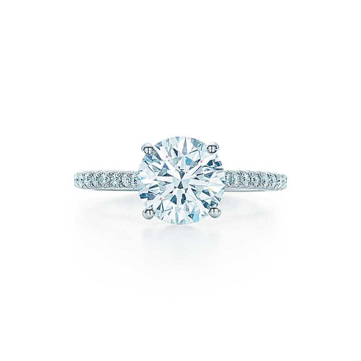 Tiffany & Co. Tiffany Novo engagement ring: www.stylemepretty...
