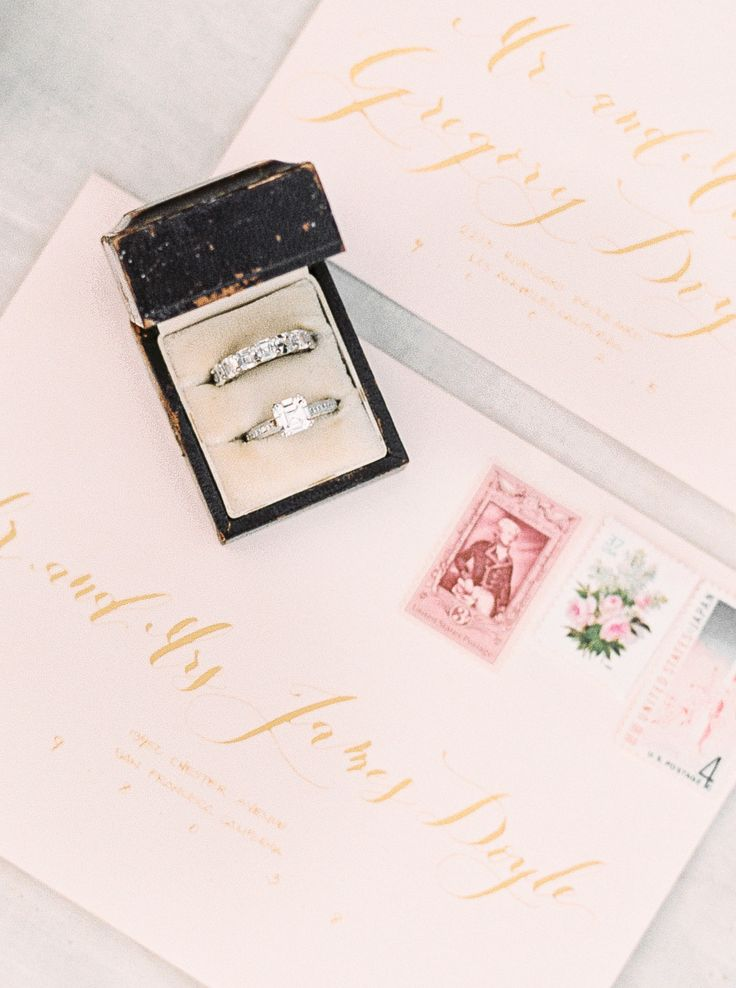 Vintage diamond ring you'll fall in love with: Calligraphy: Seniman Calligraphy ...