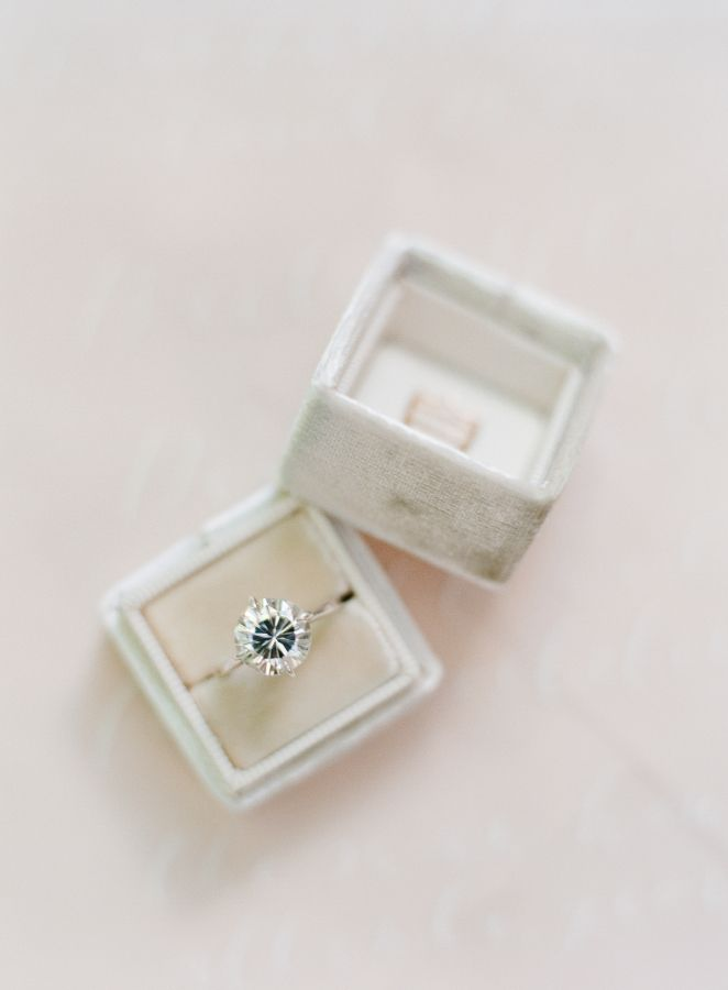 Vintage engagement ring: www.stylemepretty... Photography: almondleafstudios...