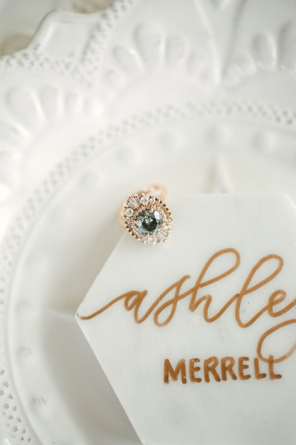 Vintage gold engagement ring: www.stylemepretty... Photography: Aria Studios - w...