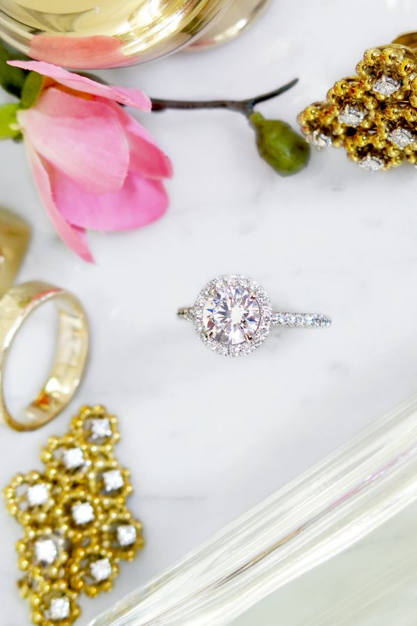 Why you should choose a custom engagement ring. Tips + Rings: Dana Walden - www....