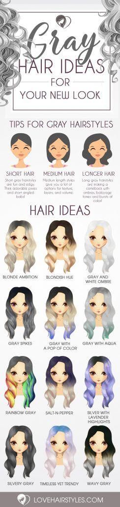 Gorgeous Gray Hair Styles...