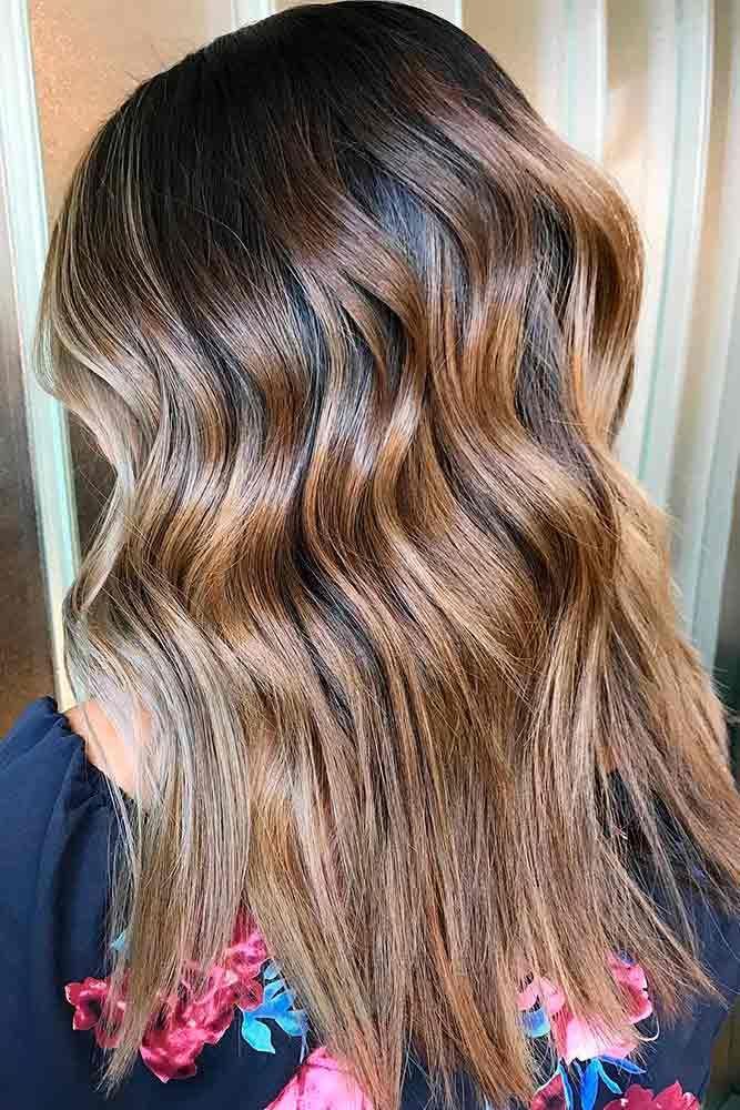 Highlights for Dark Brown Hair Color Tiger Eye: 15 Stunning New Ideas ❤ Gorgeo...