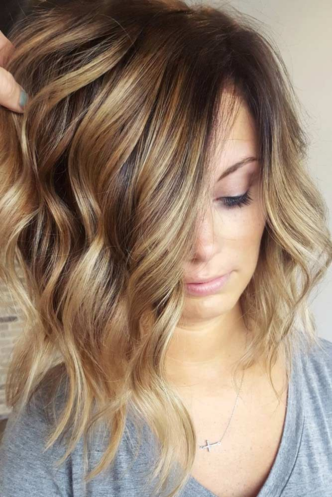 Ideas for Light Brown Hair Color with Highlights and Lowlights ★ See more: lov...