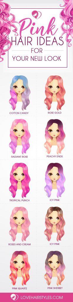 Sensational Pink Hair Ideas for a Spunky New Look...
