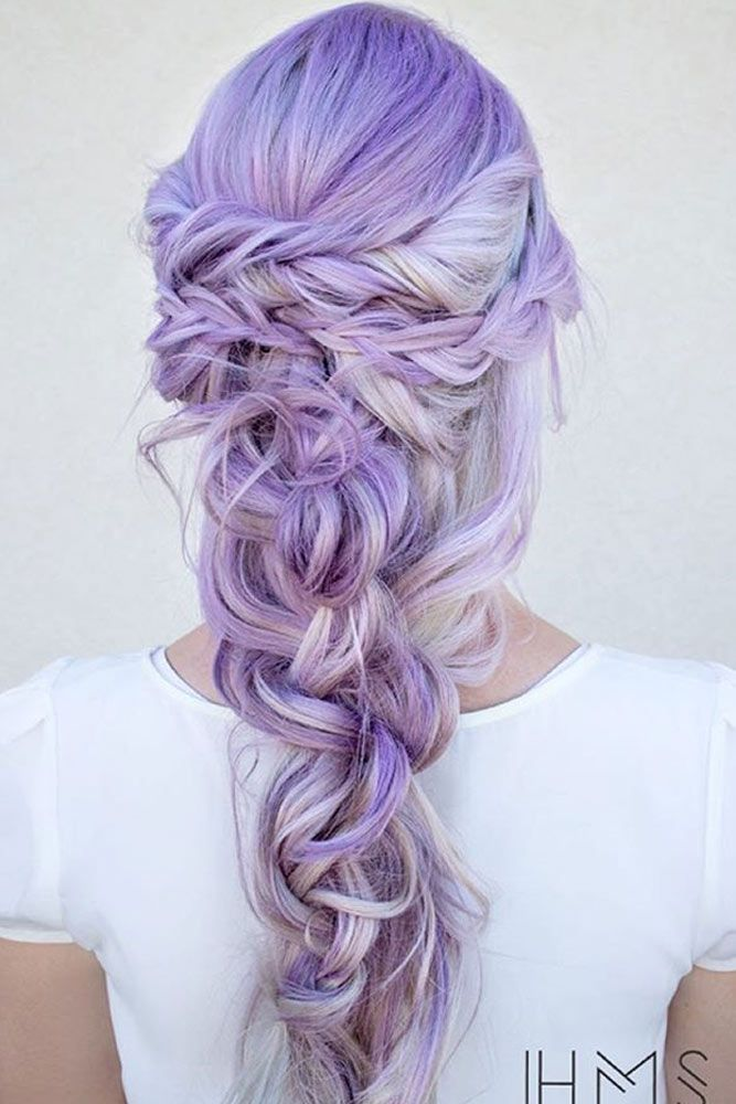 Sweet Cotton Candy Hair Ideas ★ See more: lovehairstyles.co...