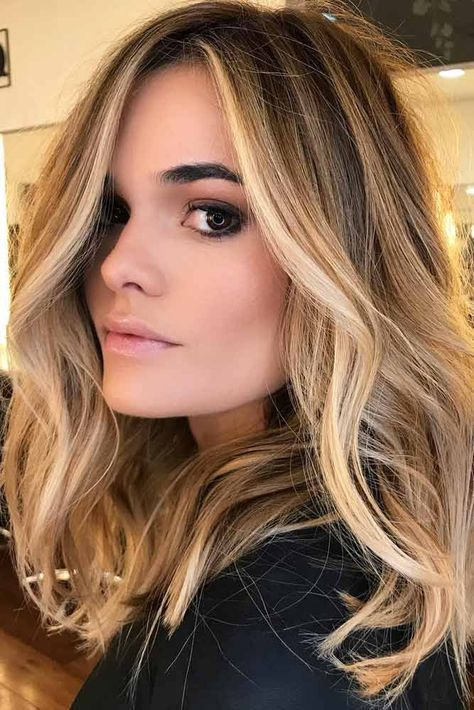 Top Brown to Caramel Colors of Balayage Hair ★ See more: lovehairstyles.co...