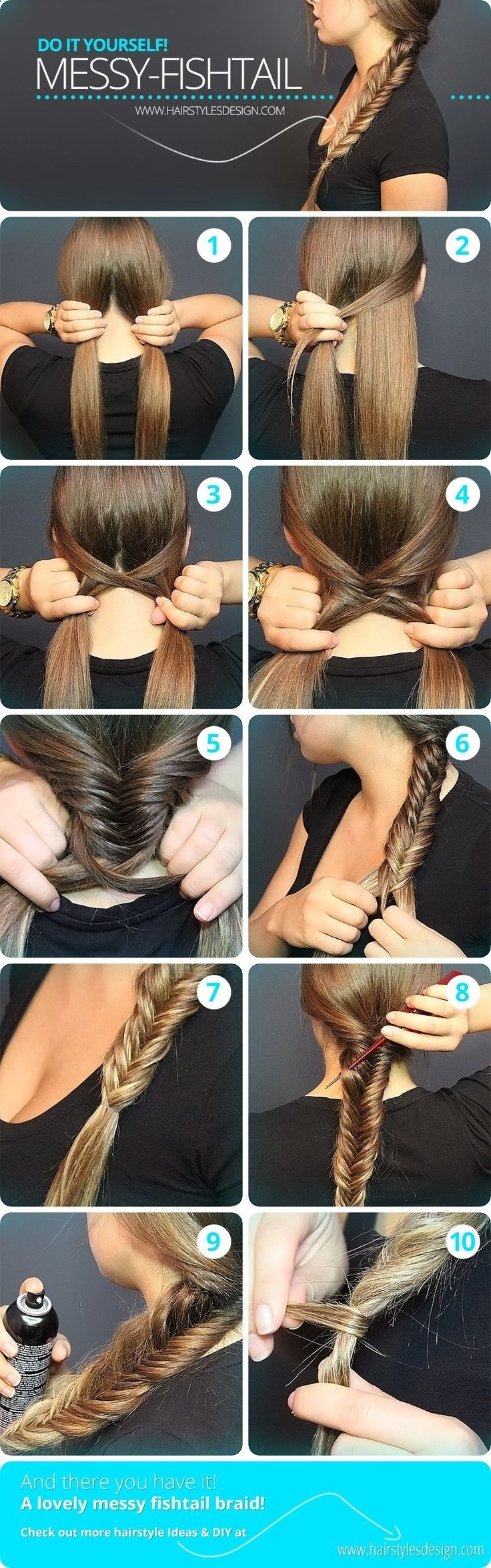 10 Braided Hairstyles from Summer to Fall...
