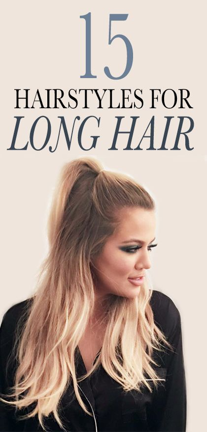 15 Gorgeous Long-Hair Ideas to Try Now: It's easy to get stuck in a hairstyle ru...
