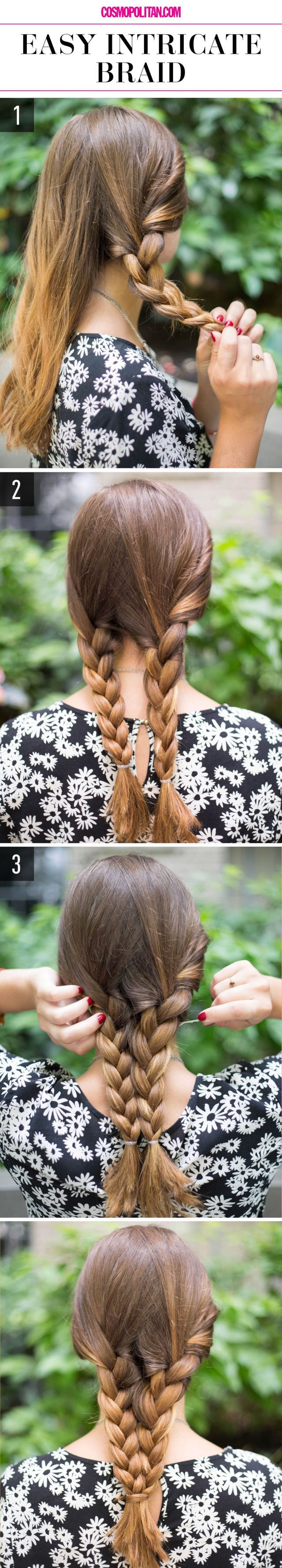 15 Super-Easy Hairstyles for Lazy Girls Who Can't Even | www.jexshop.com/...