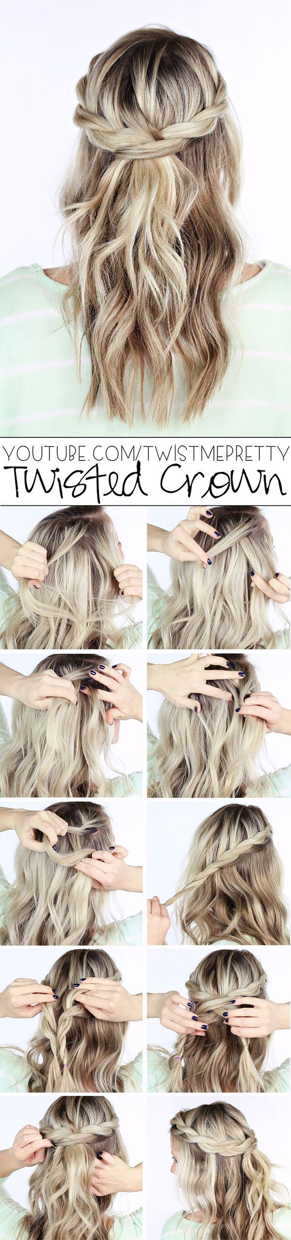 16 Boho Braid Tutorials That Will Give You Cinderella Hair For Prom